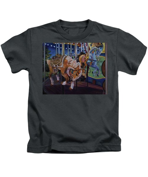 Bronc Busting 101 Kids T-Shirt