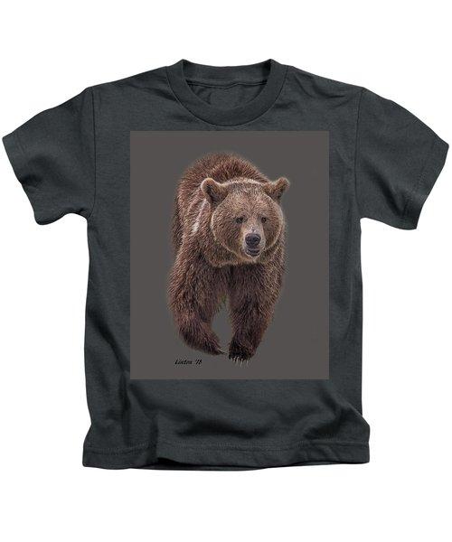 Brown Bear 8   Kids T-Shirt