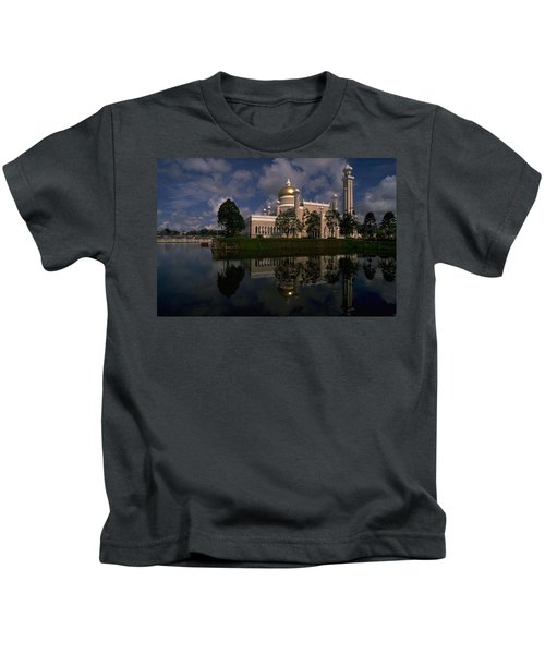 Brunei Mosque Kids T-Shirt