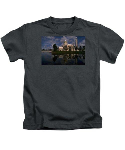 Brunei Mosque Kids T-Shirt