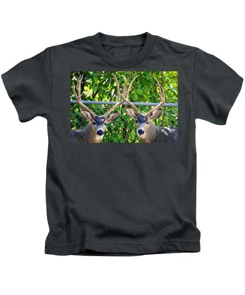 Buck Eyes Kids T-Shirt