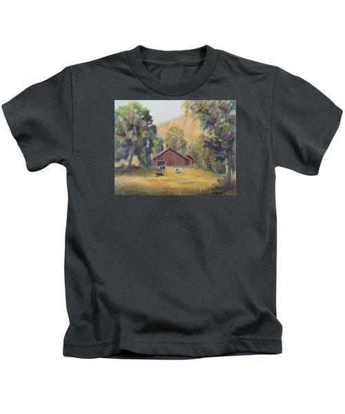Bucks County Pa Barn Kids T-Shirt