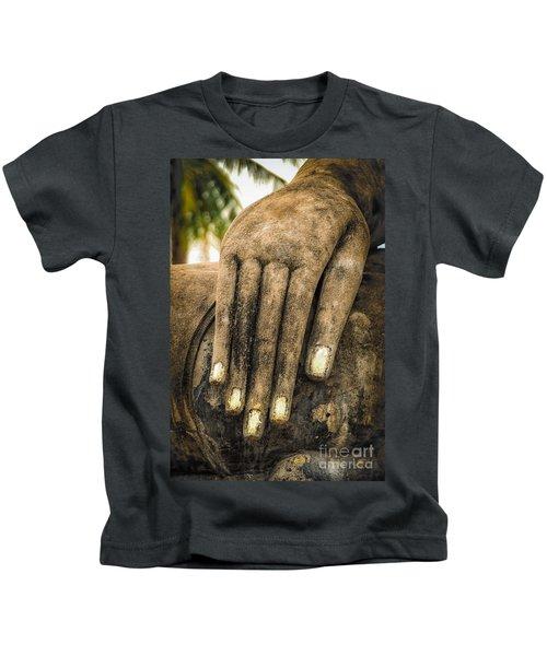 Buddha Hand Kids T-Shirt