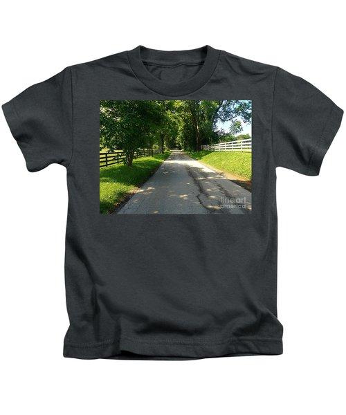Bluegrass Morning Kids T-Shirt