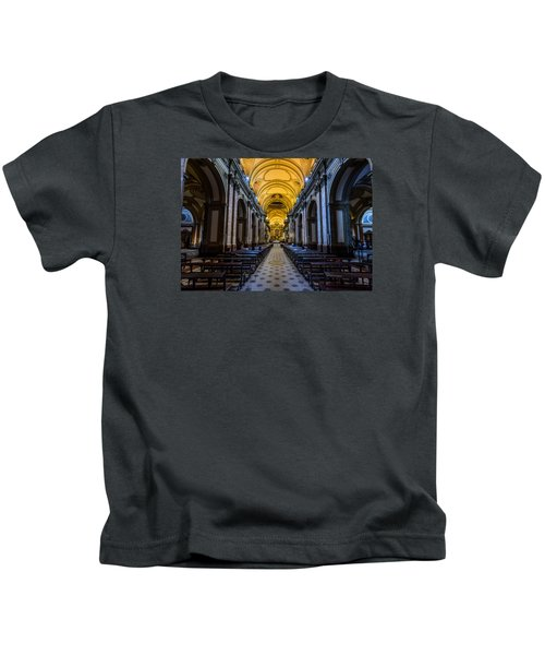 Buenos Aires Metropolitan Cathedral Kids T-Shirt