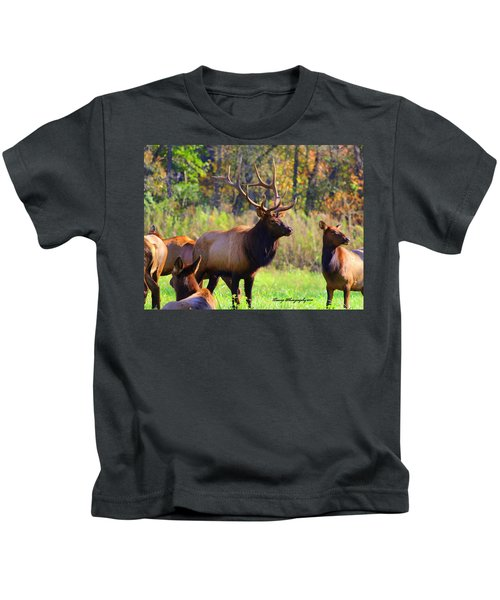 Buffalo River Elk Kids T-Shirt