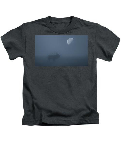 Bugle At The Moon Kids T-Shirt
