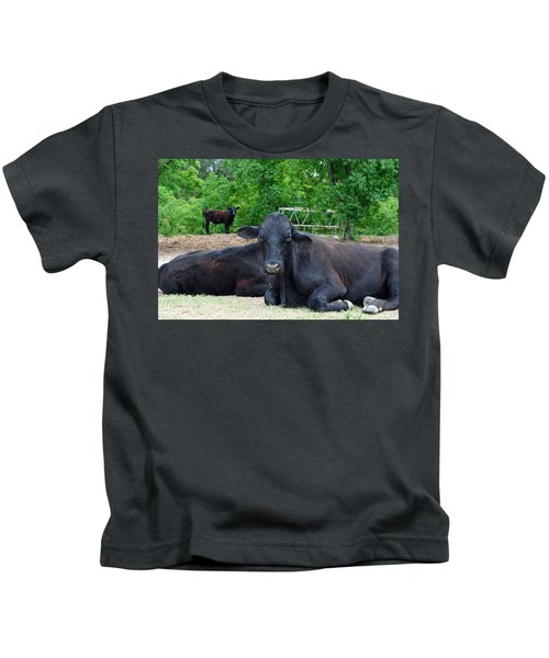 Bull Relaxing Kids T-Shirt