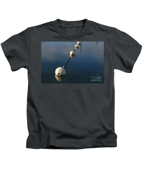 Buoys In Aligtnment Kids T-Shirt