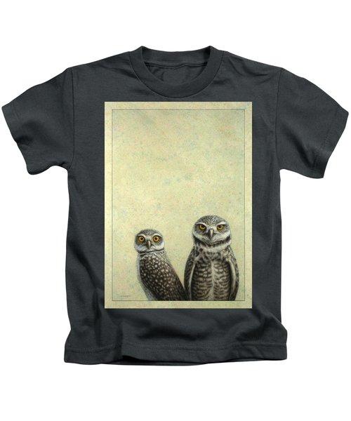 Burrowing Owls Kids T-Shirt