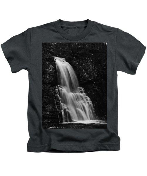 Bushkill Falls Kids T-Shirt