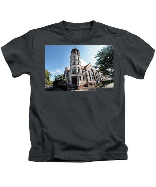 Bushwick Avenue Central Methodist Episcopal Church Kids T-Shirt