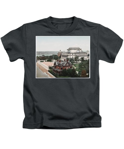 Butler Library At Columbia University Kids T-Shirt