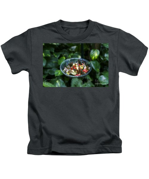 Butterflies Feeding Kids T-Shirt