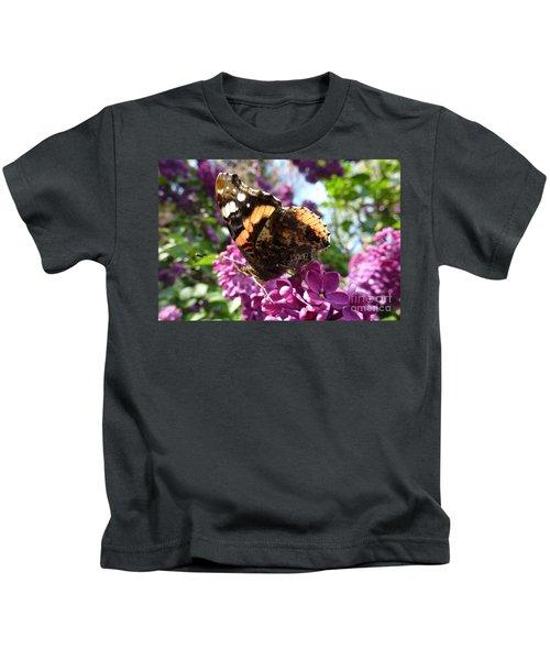 Butterfly 7 Kids T-Shirt