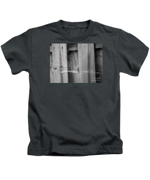Bw Spiderweb Kids T-Shirt