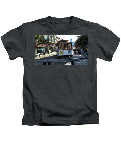 Cable Car Turnaround Kids T-Shirt