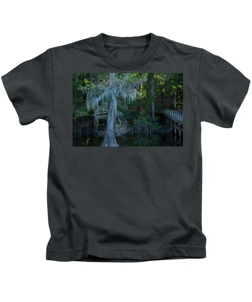 Caddo Lake #1 Kids T-Shirt