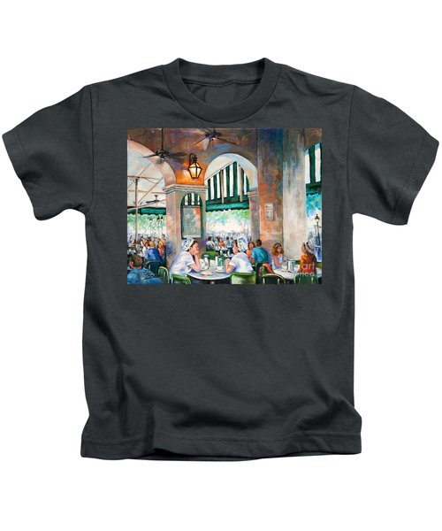 Cafe Girls Kids T-Shirt