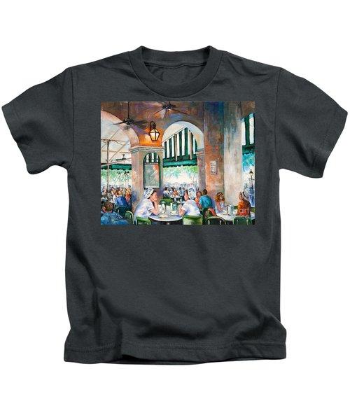 Cafe Girls Kids T-Shirt