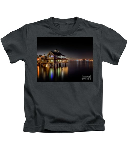 Cafe On The Port Kids T-Shirt