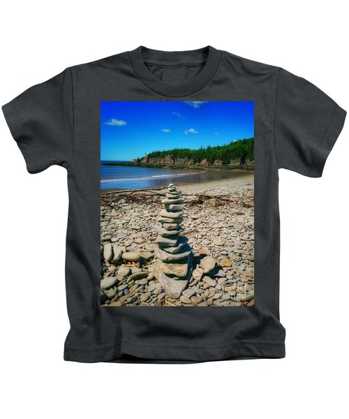 Cairn In Eastern Canada Kids T-Shirt