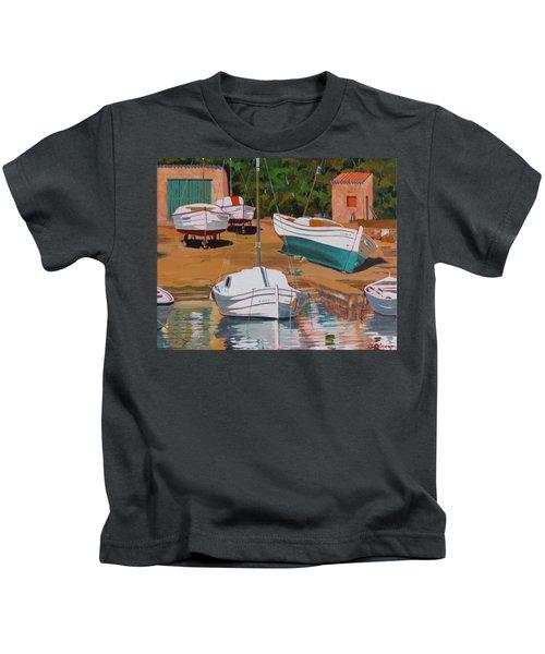 Cala Figuera Boatyard - II Kids T-Shirt