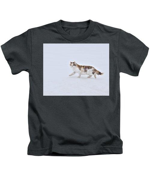 Calico Huntress Kids T-Shirt
