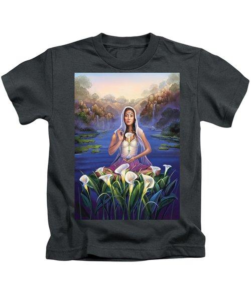 Calla Lily - Be Still Kids T-Shirt