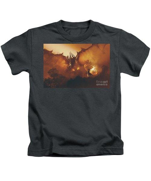 Calling Of The Dragon Kids T-Shirt