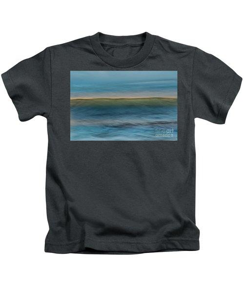 Calming Blue Kids T-Shirt