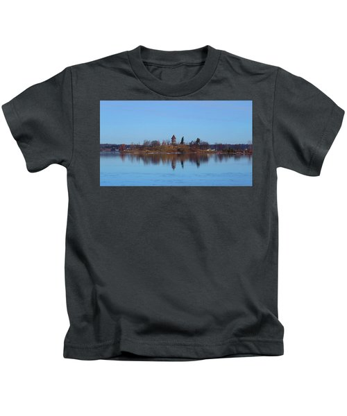 Calumet Island Reflections Kids T-Shirt