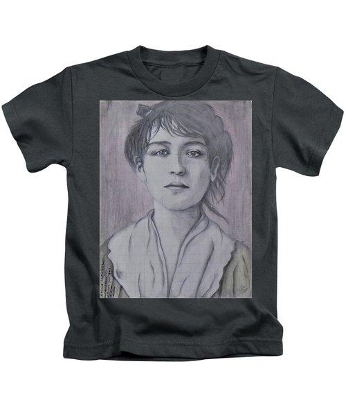 Camile Claudel Kids T-Shirt