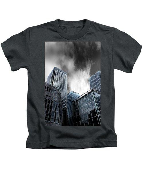 Canary Wharf Kids T-Shirt by Martin Newman