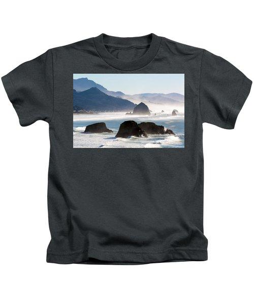 Cannon Beach On The Oregon Coast Kids T-Shirt