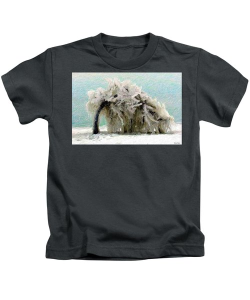 Kids T-Shirt featuring the painting Unbreakable  by Marian Palucci-Lonzetta