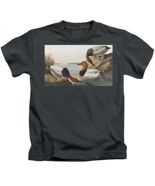 Canvas Backed Duck Kids T-Shirt