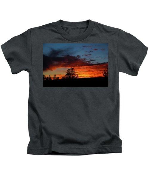 Canvas For A Setting Sun Kids T-Shirt