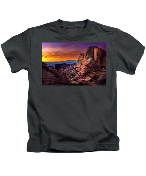 Canyonlands Sunrise Kids T-Shirt