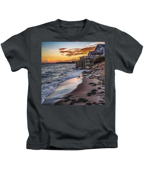 Cape Cod September Kids T-Shirt