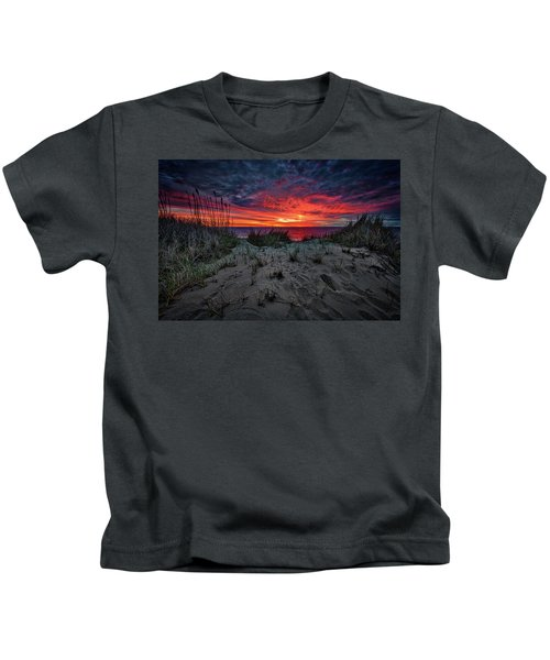 Cape Cod Sunrise Kids T-Shirt