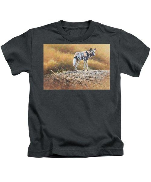 Cape Hunting Dog Kids T-Shirt