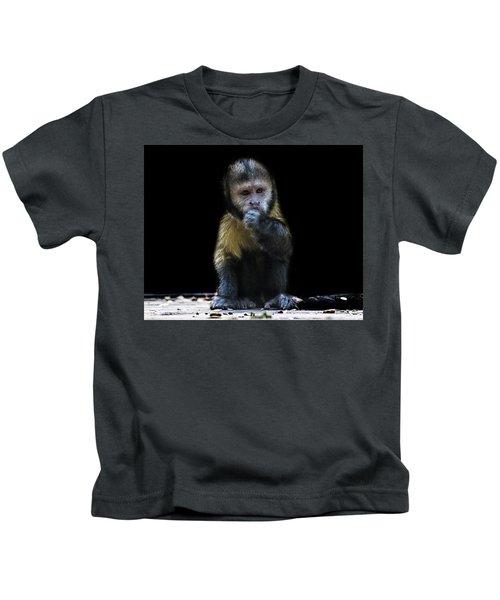 Capuchin Monkey Kids T-Shirt