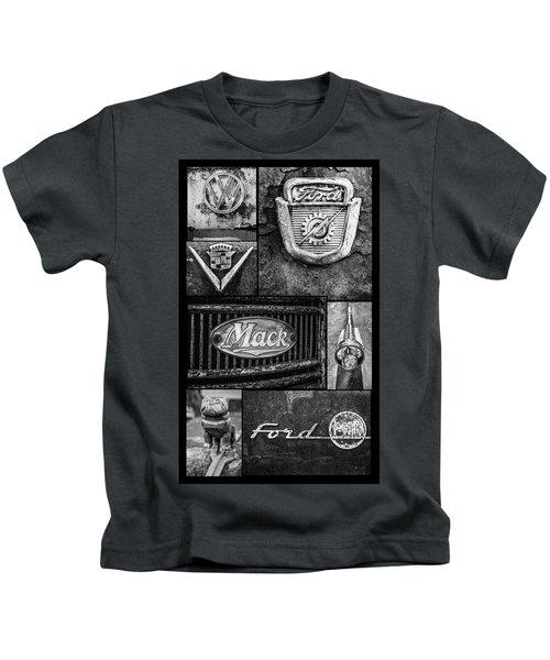 Car Emblems Kids T-Shirt