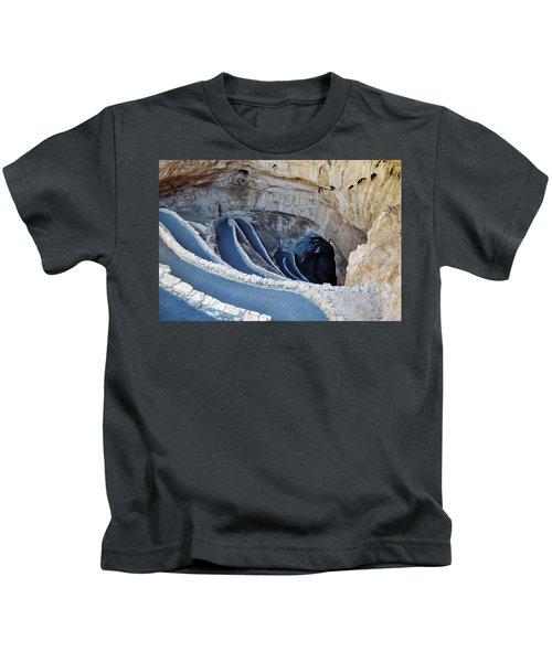 Carlsbad Caverns Natural Entrance Kids T-Shirt