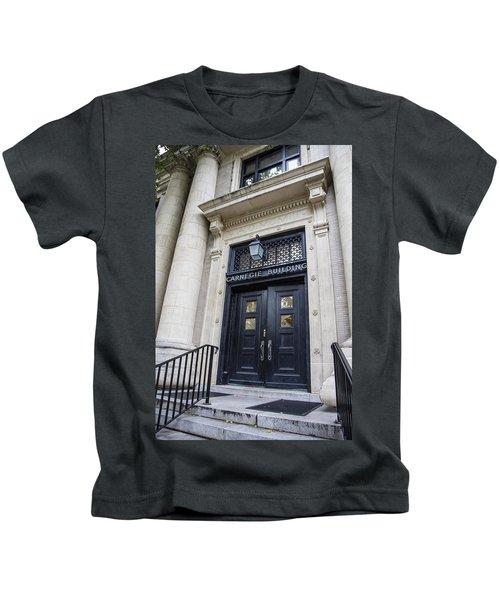 Carnegie Building Penn State  Kids T-Shirt