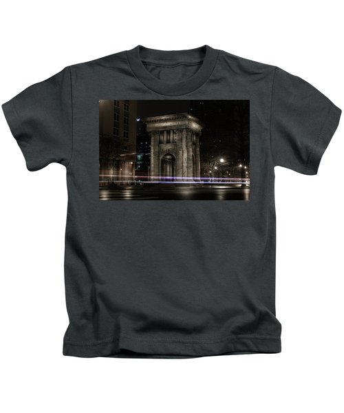 Carnegie Monument Kids T-Shirt