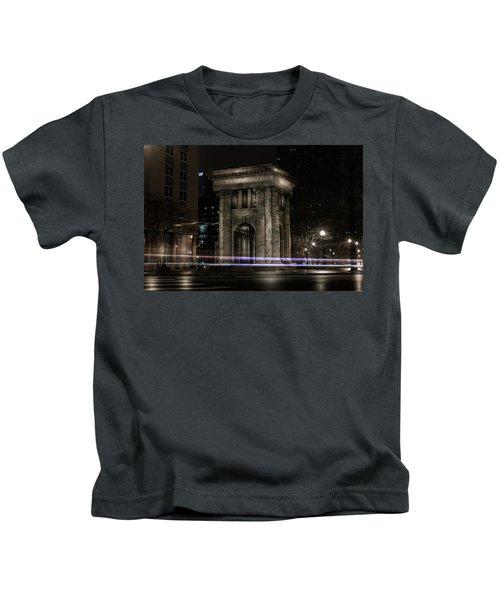 Carnegie Monument Kids T-Shirt