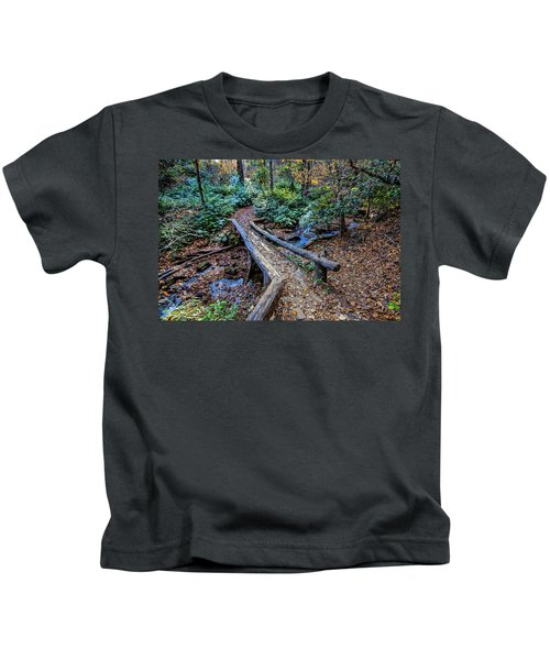 Carpet Of Leaves Kids T-Shirt