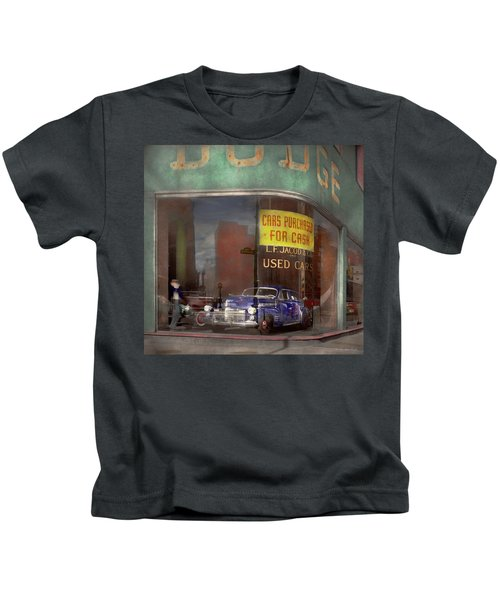 Cars - Used - Cars Purchased For Cash 1943 Kids T-Shirt